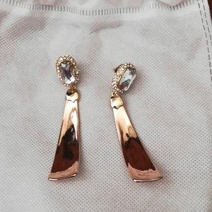 Alexis Bittar Crystal Scoop Earings